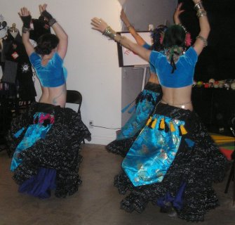 The Serpentina North Ensemble at the March 2011 Bazaar of the Bizarre
