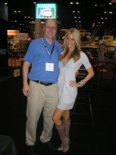 Jaycelle, Rachael and me at the PGA Merchandise Show 2011